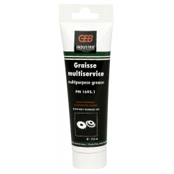 Graisse multiservices en tube 125 ml GEB 651145