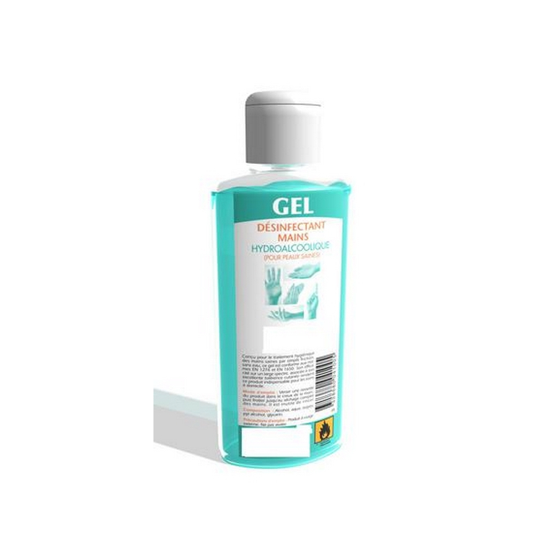 Gel Desinfectant Mains Mercurochrome Le Flacon De 75ml A Prix