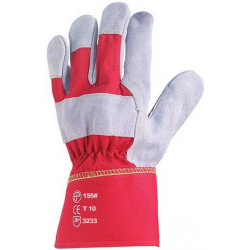 Gants de manutention Docker croute cuir La paire