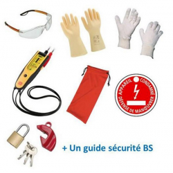 Kit de protection individuelle et de condamnation CATU KIT-18510-BS