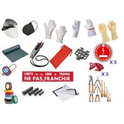 Kit de protection individuelle et de condamnation CATU KIT-18510-BR