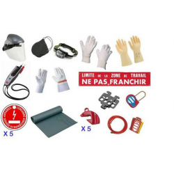 Kit de protection individuelle et de condamnation CATU KIT-18510-BC