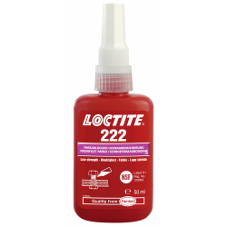 Freinfilet faible LOCTITE 222 Flacon 50 ml 195743