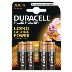 Duracell Plus AA (Pack de 4)
