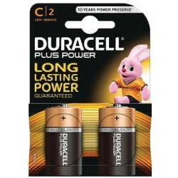Duracell Plus Power de type C - Pack de 2
