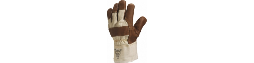 Gants de Manutention Cuir
